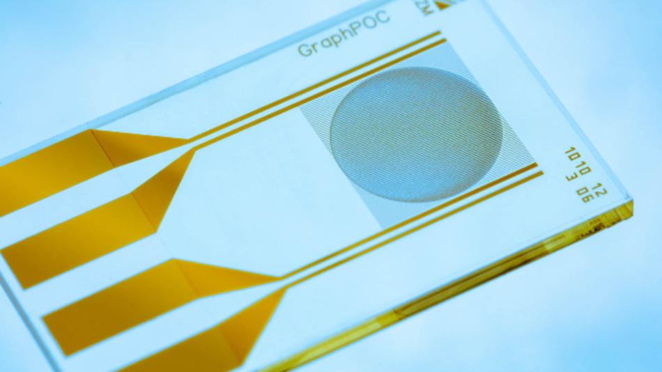 Fraunhofer-Forschende entwickeln Biosensoren, die auf Graphenoxid basieren und es ermöglichen, bakterielle und und virale Infektionen in nur 15 Minuten zu erkennen.