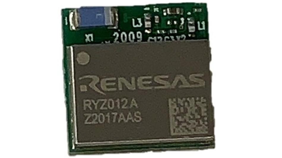 Neues RYZ012-Modul bietet Multi-Standard-Wireless-Kommunikation mit Unterstützung für Bluetooth Low Energy 5 und IEEE802.15.4-basierten Standards.
