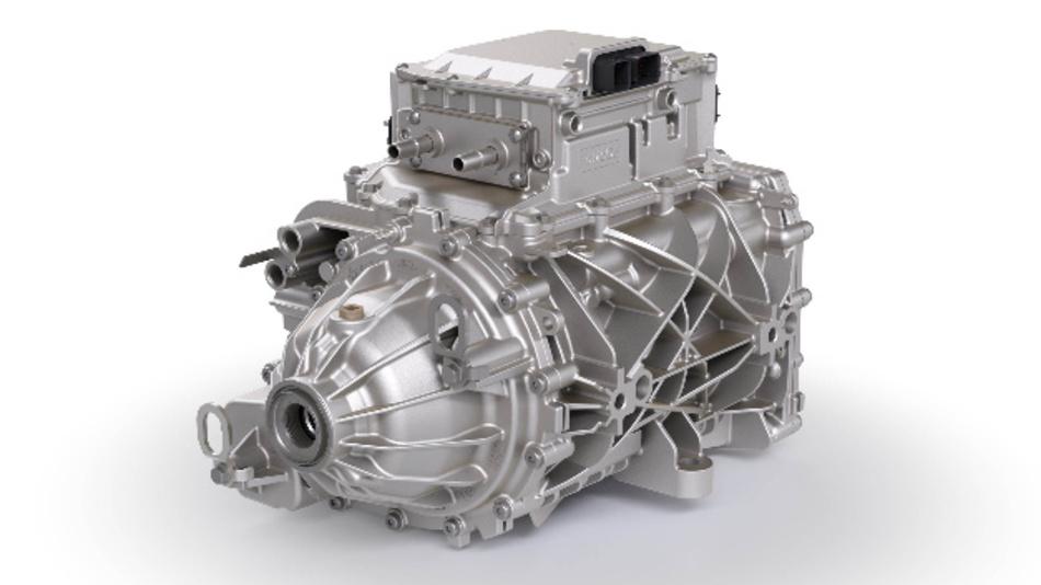 Bei der Entwicklung des iDM setzte BorgWarner auf Systemintegration: eigenes Getriebe sowie Motor und Leistungselektronik von anderen Herstellern.
