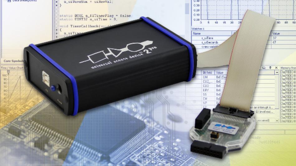 Ab sofort untertstützt die UDE weitere Mikrocontroller von NXP: