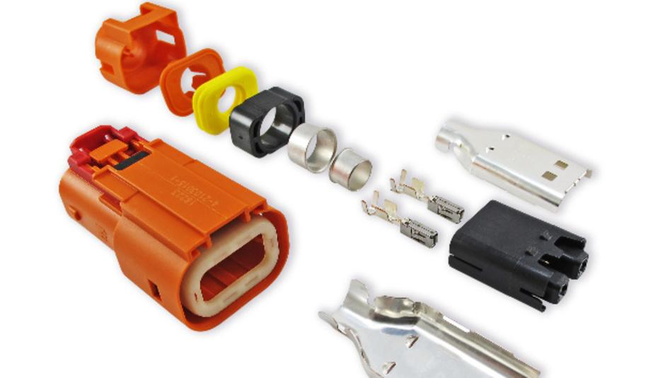 Als kompletter Bausatz verfügbar: Verbindungstechnik für Hybrid- und Elektroautos