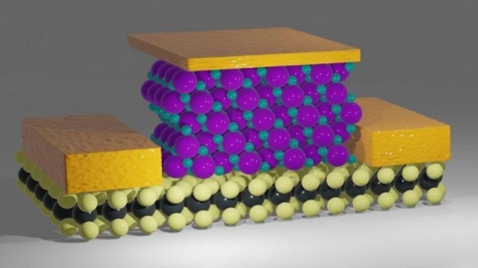 Kalzium-Fluorid ist ein kristalliner Isolator mit einer klar-definierten Oberfläche. Deshalb eignet er sich optimal für die Herstellung von extrem kleinen Transistoren.