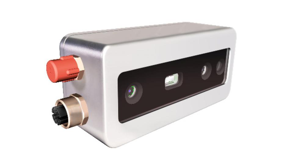 Die 3D-Industriekamera D415e von Framos ermöglicht es, 3D-Bildverarbeitung kostengünstig in rauen Umgebungen zu integrieren.