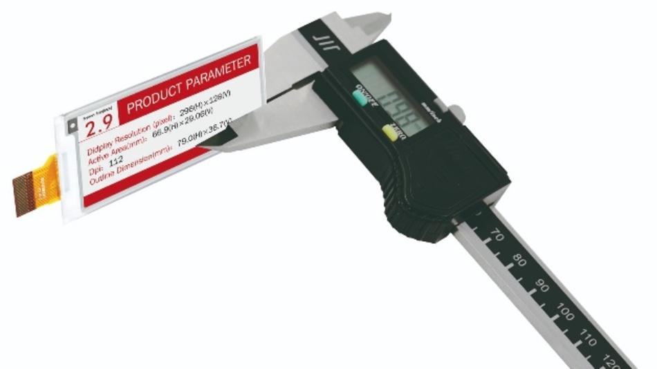 Hauchdünn: ein E-Paper Display von DKE