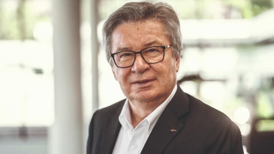 Firmeninhaber Prof. Klaus Fischer, Fischer Group.