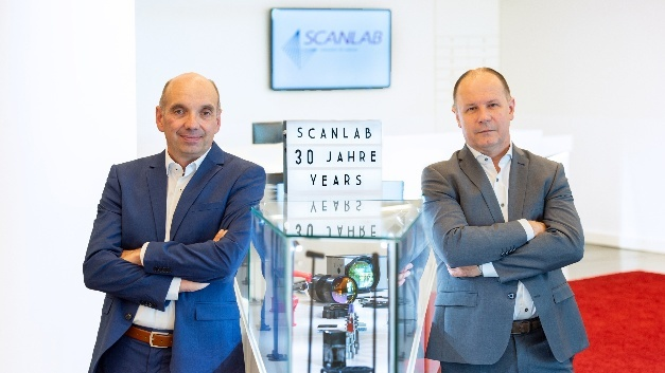 Scanlabs Geschäftsführung: Christian Huttenloher, Operations (links) und Georg Hofner, Sprecher der Geschäftsführung (rechts)