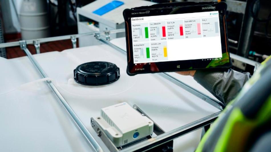 Der Micropilot FWR30 und Netilion Inventory liefern jederzeit Informationen über Füllstände, Umgebungstemperatur, Messwerthistorie und den Batteriestatus.