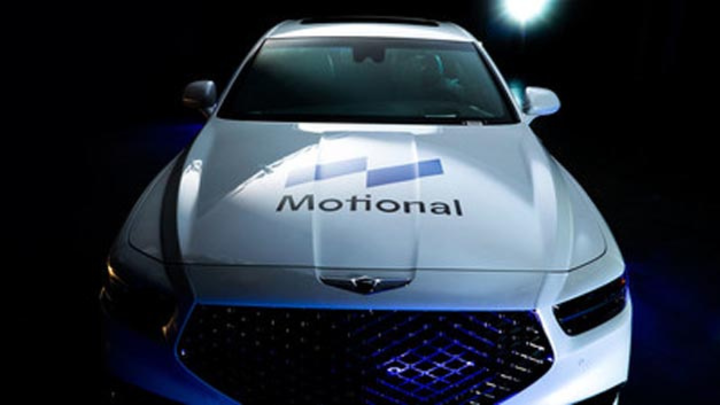 Das Gemeinschaftsunternehmen von Aptiv und Hyundai wird den Namen Motional tragen.