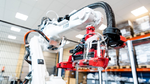 ABB-Roboter in der Schutzmaskenfertigung