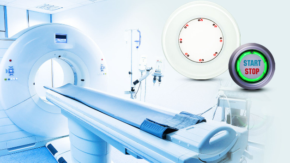 Kapazitive Taster entsprechen den gestiegenen Hygieneanforderungen in der Medizin.