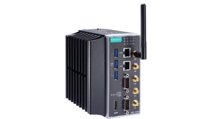 Edge-Computer der Serie MC-1200 von Moxa.
