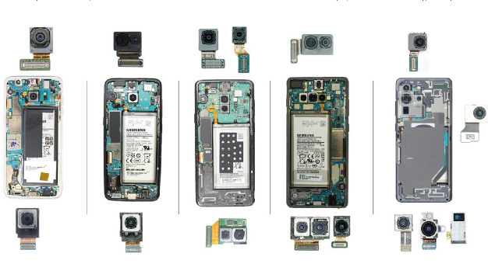 Smartphones sind einer der größten Absatzmärkte und Wachstumstreiber für Kameramodule.