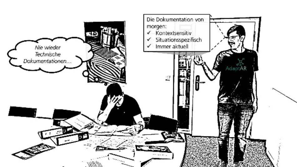 Das Fraunhofer IPT entwickelt mit seinen Projektpartnern ein Augmented-Reality-System, das die Erstellung und Nutzung von Anleitungen deutlich erleichtern soll.