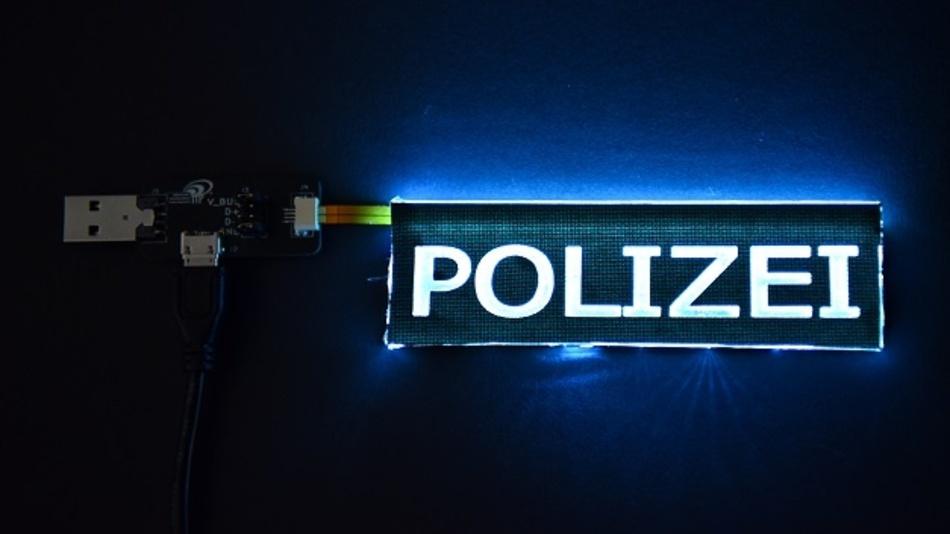 Licht aus dem Gewebe: neue Möglichkeiten für Arbeitsschutz, Signalement und Sicherheit.