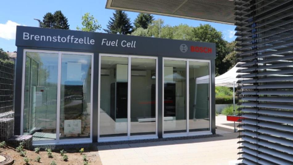Stationary fuel cell Wernau.
