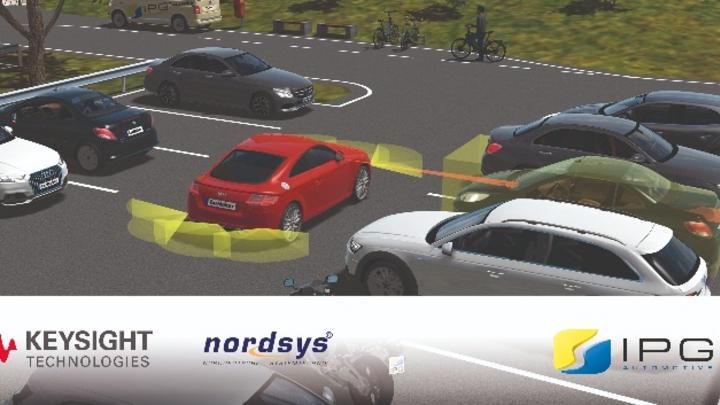 IPG Automotive, Keysight und Nordsys entwickeln Autonomous-Drive-Emulation-Plattform ADE