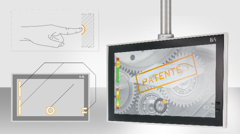 Typische Bedienfunktionen werden von B&R jetzt direkt ins Frontglas von Touchscreenpanels eingearbeitet und können Hardware-Elemente wie Funktionstasten und Drehschalter in vielen Fällen ersetzen.