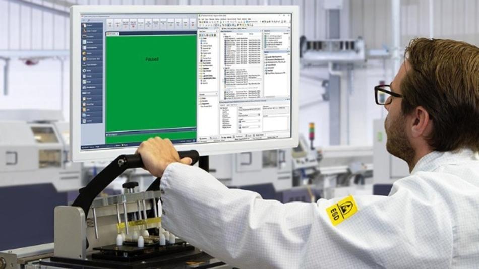 Anwender im Prüffeld schätzen das Plus an Funktionalität und Bedienkomfort durch MCD Comet.