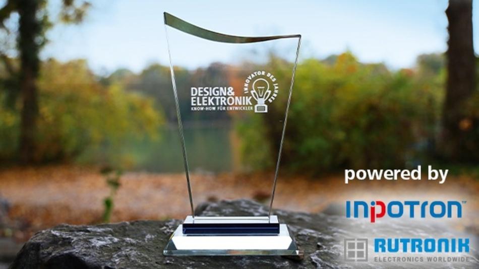 Die Wahl zum Innovator des Jahres 2020 läuft den ganzen September über. Die Redaktion der Design&Elektronik freut sich auf eine rege Teilnahme und wünscht viel Glück bei der anschließenden Preisverlosung!