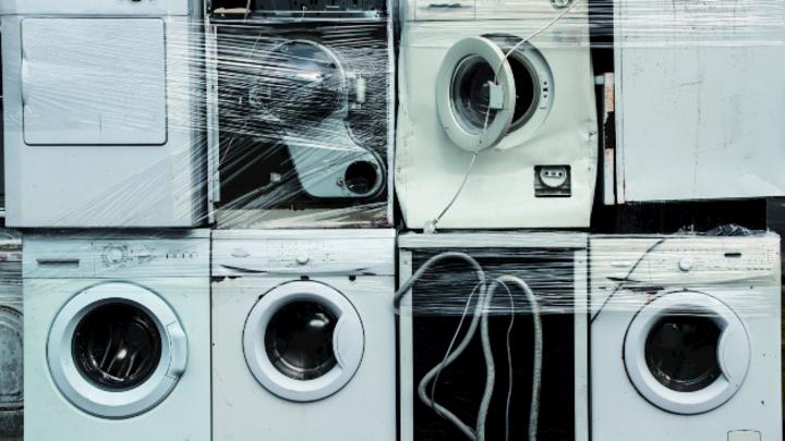 Altgeräte, Waschmaschinen, Elektroschrott