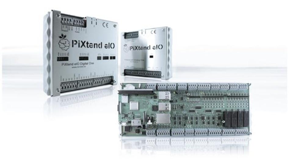 PiXtend stellt Steuerungsgeräte und I/O-Baugruppen auf Raspberry-Pi-Basis her.