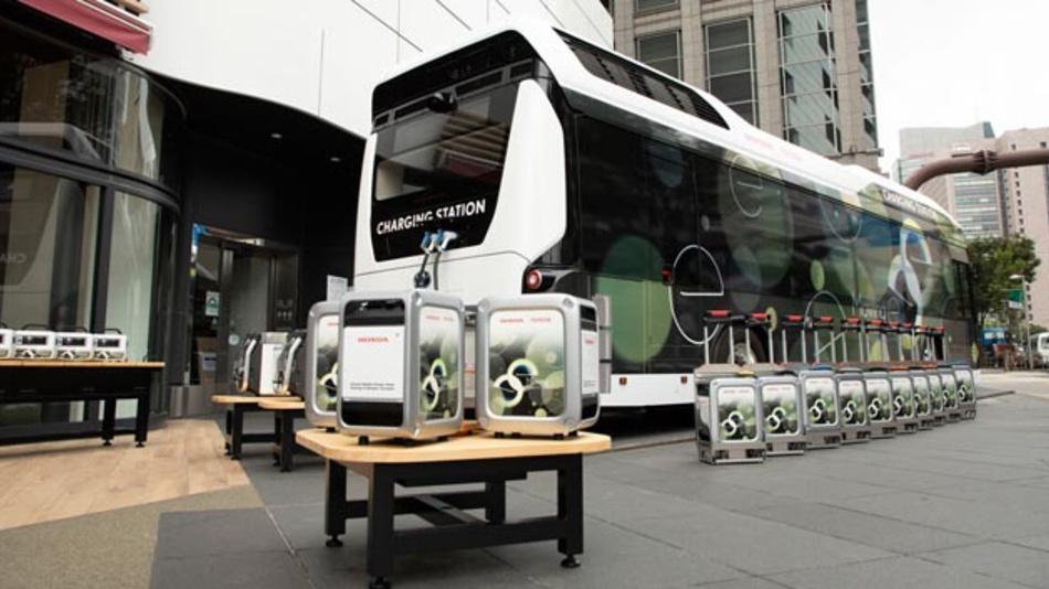 Toyota und Honda haben gemeinsam ein System für eine mobile und gleichzeitig sichere Stromversorgung entwickelt.