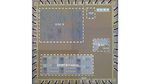 Bild 1. Chip mit dem vom Fraunhofer IMS entwickelten leistungsfähigen Mikrocontroller-Kern auf Basis der RISC-V-Befehlssatzarchitektur (oben links) und der Krypta-Engine (unten links).