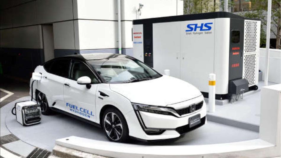 Wasserstoff soll als alternativer Antriebsstoff Teil einer klimafreundlichen Mobilität werden.