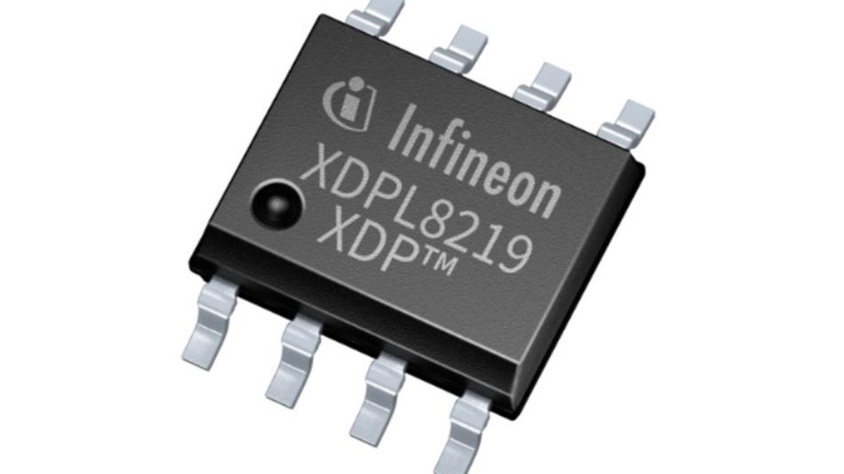 LED-Treiber-IC aus der Digital-Power-Familie XDP von Infineon: Der XDPL8219 lässt sich anwenderspezifisch konfigurieren und kann optional Betriebsparameter übertragen.