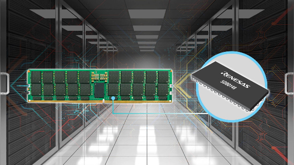 Der neue JEDEC-konforme DDR5-Datenspeicher »5DB0148« ermöglicht höhere Geschwindigkeiten und eine geringere Latenzzeit.