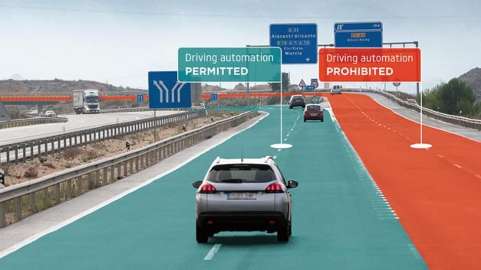 Mit RoadCheck von TomTom können Automobilhersteller bestimmen, wo für Fahrer die Nutzung automatisierter Fahrfunktionen sicher ist.