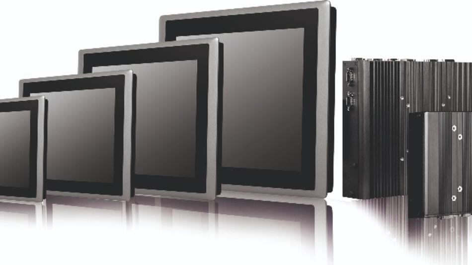 Das modulare Systemdesign des CDS-Konzept erlaubt die Kombination von verschiedenen Displays mit PC-Modulen.