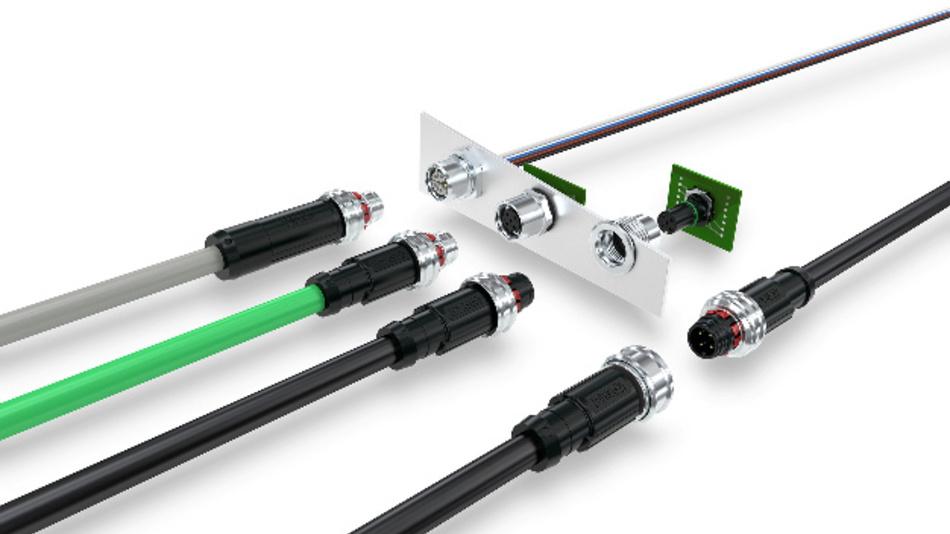M12 Push-Pull: Produktvielfalt in der Feldverkabelung und Gerätesteckverbinder-Design für alle Anforderungen bei der Übertragung von Daten, Signalen und Power