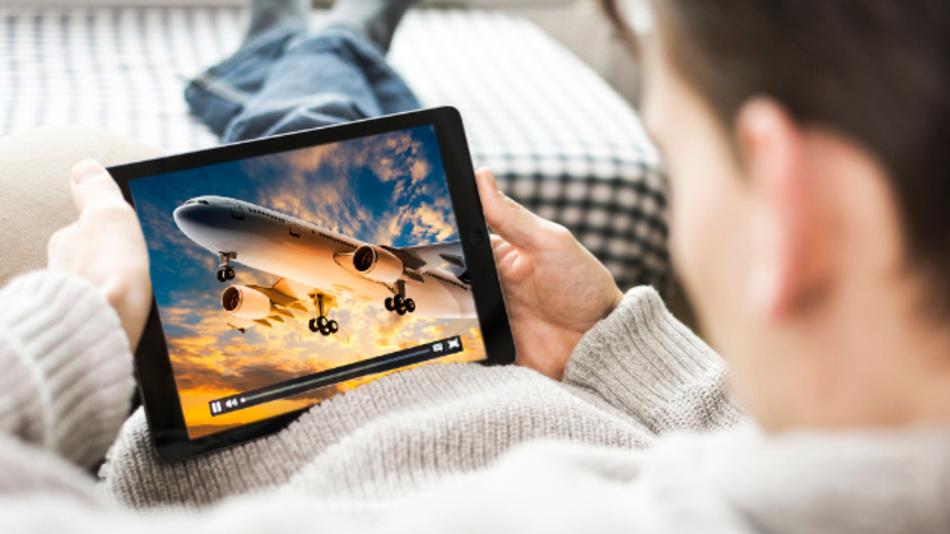 Ist Videos streamen das neue Fliegen?