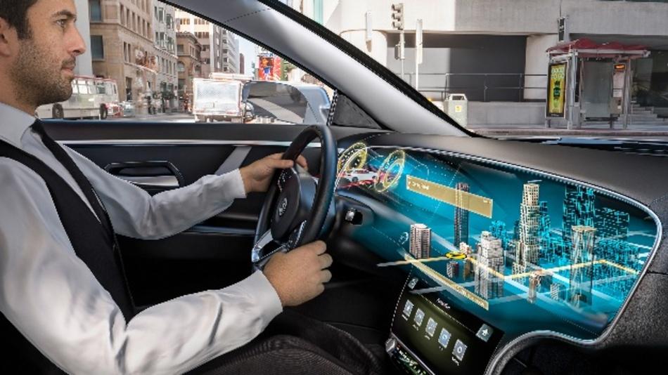 Eine 3D-Erfahrung der nächsten Generation präsentierten Leia und Continental mit ihrem gemeinsam entwickelten Lightfield Display.