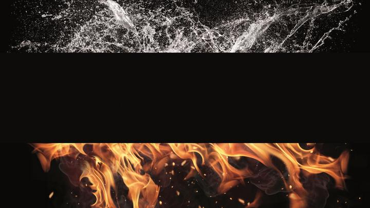 Elemente Feuer Wasser