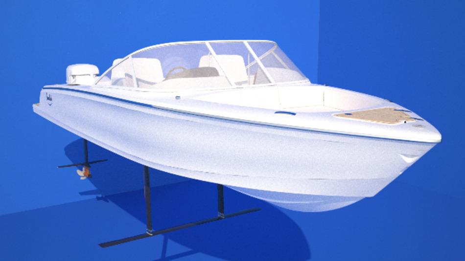 Das vom schwedischen Technologieunternehmen Candela entwickelte Elektroboot Candela Seven hat eine Länge von 7,7 Metern und eine Breite von 2,4 Metern. Mit ihren 1300 kg Gewicht schafft sie eine Maximalgeschwindigkeit von 30 kn.