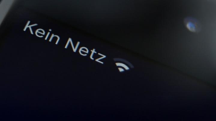 Kein Netz