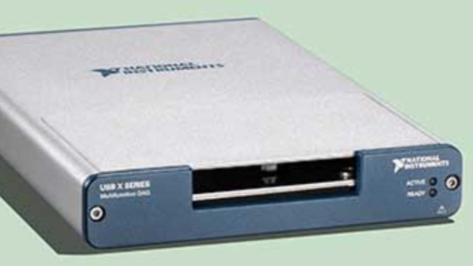 Die Multifunktions-DAQ-Hardware der Serie USB X von NI ist jetzt über Digi-Key Electronics erhältlich.