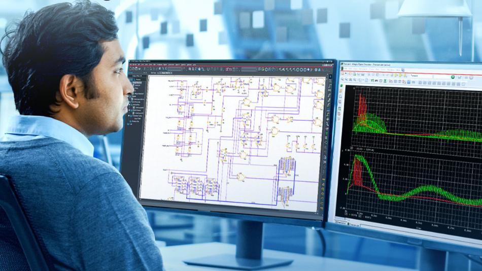 Mit der neuen PSpice-Version ermöglicht TI die Simulation von analogen Schaltungen auf Systemebene.
