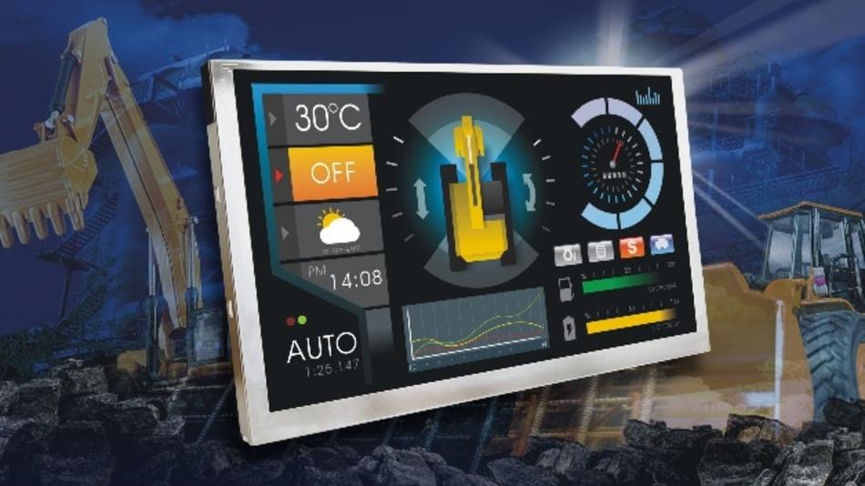 KOEs neue 8,0 Zoll große Rugged+-Displaymodule bieten IPS und eine Helligkeit von 1200 cd/m²