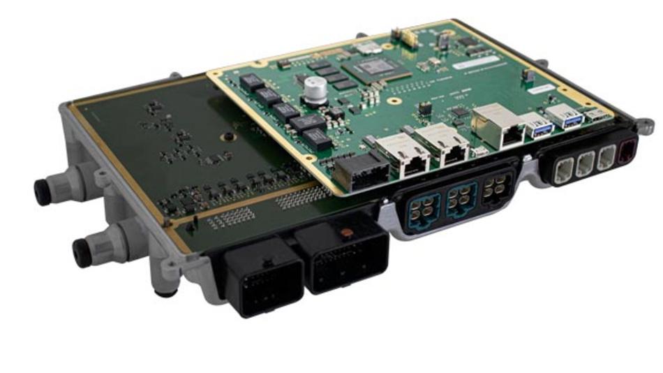MDI Hardware von b-plus auf der ZF ProAI RoboThink