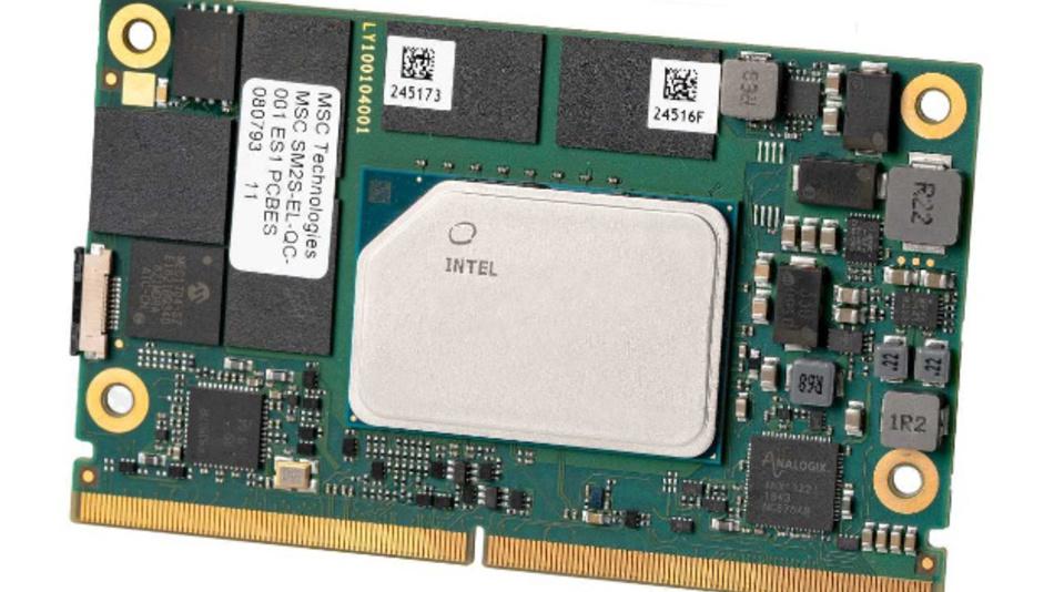 Die »Atom-x6000E«-Prozessoren von Intel sind jetzt in diversen Embedded-Modulen von Avnet Integrated eingebaut.