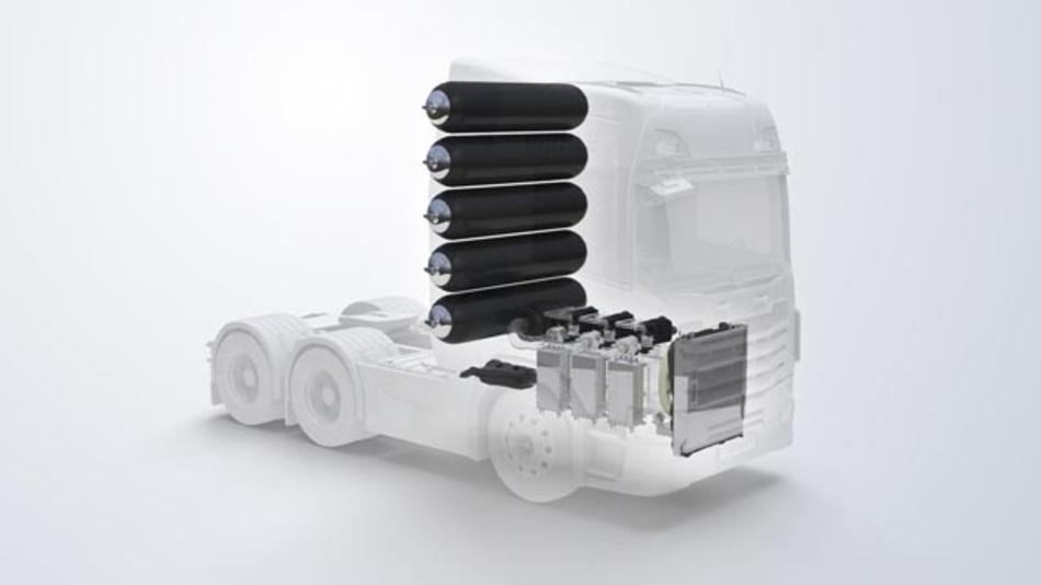 Bei der Entwicklung von Brennstoffzellen für Nutzfahrzeuge kooperiert Mahle zukünftig mit dem kanadischen Brennstoffzellenhersteller Ballard.