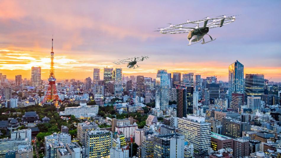 Volocopter will seine elektrisch angetriebene Flugtaxis vom Typ »VoloCity« und die Schwerlastdrohnen »VoloDrone« in den nächsten zwei bis drei Jahren auf den Markt bringen.