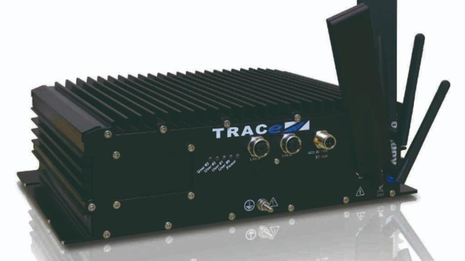 Das lüfterlose Server Gateway SR-TRACe-G40x von Kontron.
