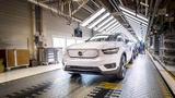 Am 01. Oktober 2020 ist der erste Volvo XC40 Recharge vom Band gelaufen.