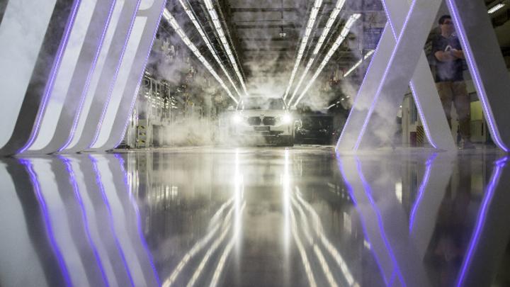 Produktionsstart des BMW iX3 im chinesischen Shenyang.