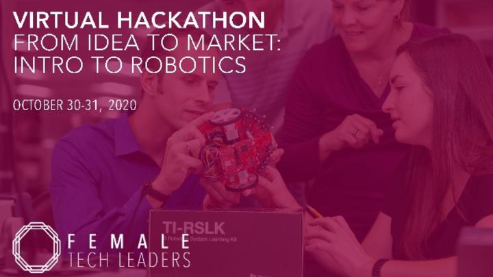 Frauenpower ist gefragt – Female Tech Leaders und Texas Instruments laden zum virtuellen Robotik-Hackathon ein.