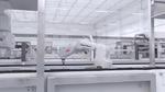6-Achs-Roboter automatisiert Reinraum